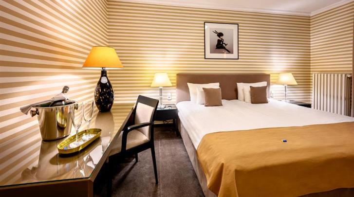 Boedapest, Hotel Ambra, Standaard kamer