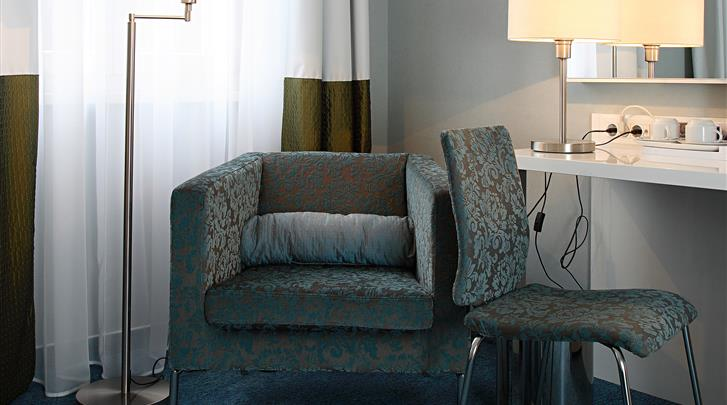 Boedapest, Hotel Atrium, Standaard kamer