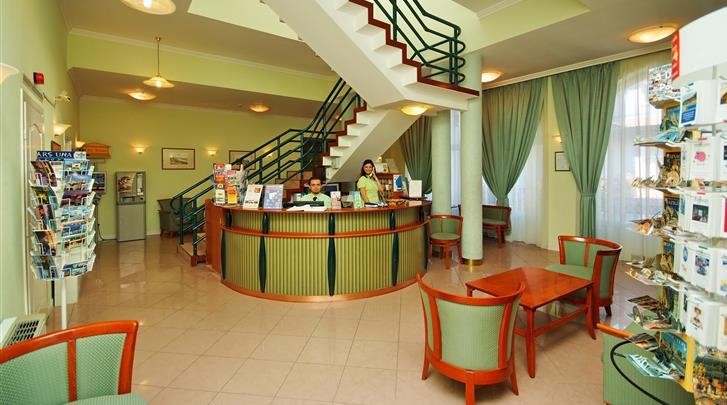 Boedapest, Hotel Baross City, Lobby