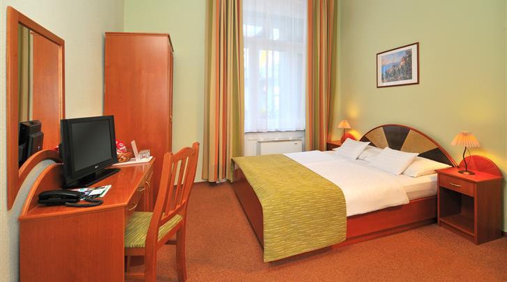 Boedapest, Hotel Baross City, Standaard kamer