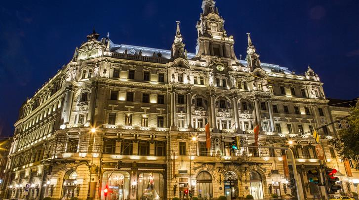 Boedapest, Hotel Boscolo Budapest, Façade hotel