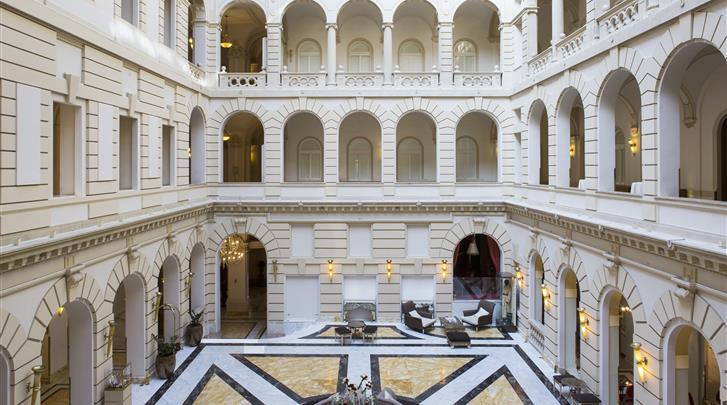 Boedapest, Hotel Boscolo Budapest, Lobby