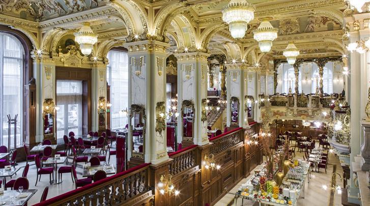 Boedapest, Hotel Boscolo Budapest, New York Café