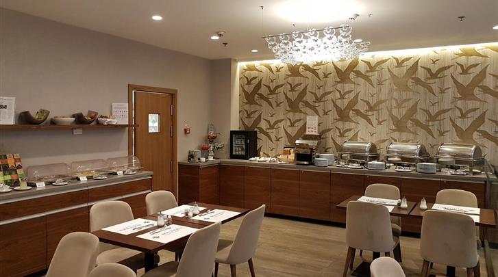 Boedapest, Hotel Boutique Boedapest, Restaurant