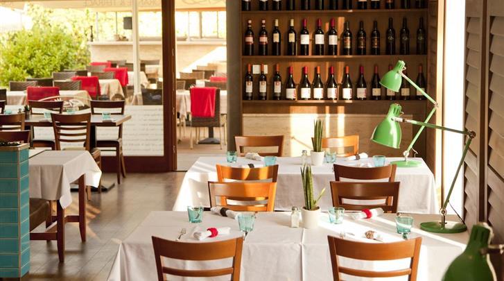 Boedapest, Hotel Castle Garden, Restaurant
