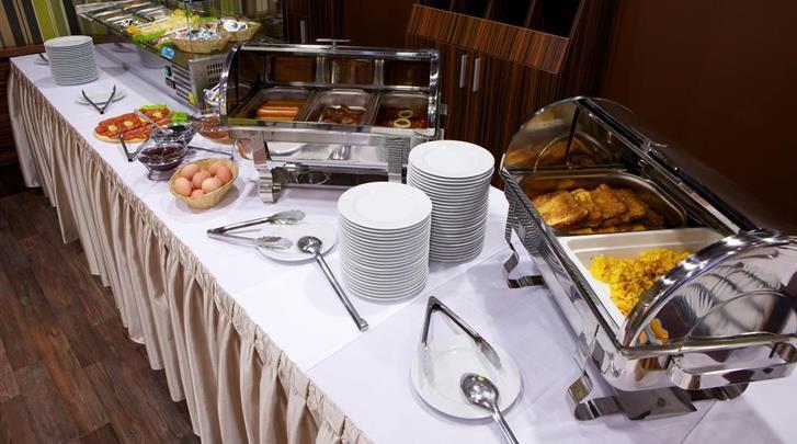 Boedapest, Hotel City Inn (BUD), Ontbijtbuffet