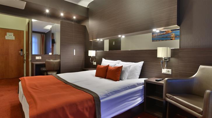 Boedapest, Hotel City Inn (BUD), Standaard kamer