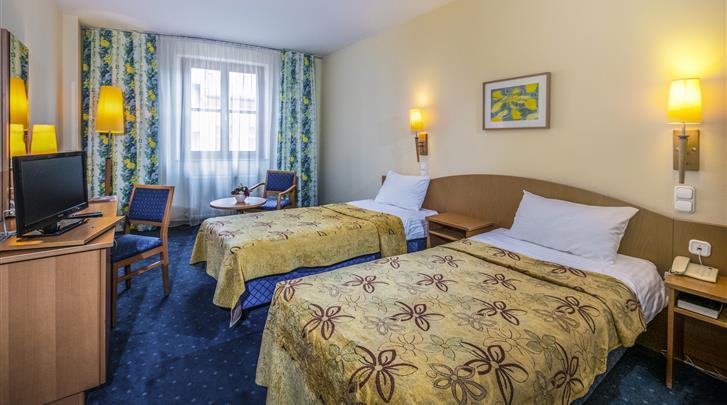 Boedapest, Hotel Corvin, Sissikamer