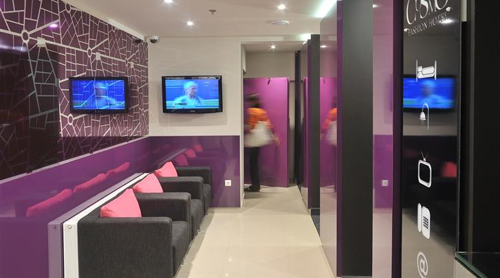 Boedapest, Hotel Cosmo City, Lobby