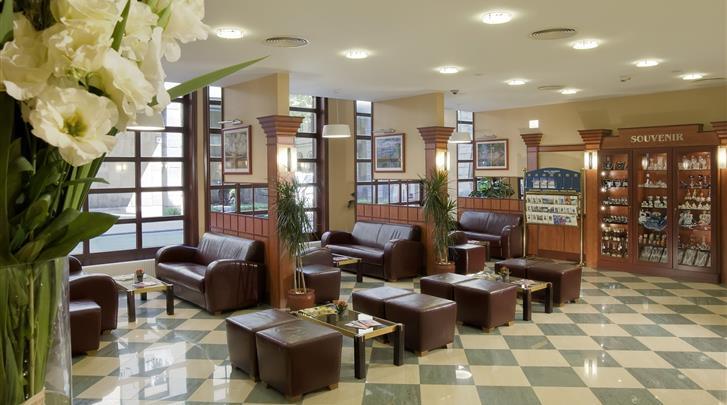 Boedapest, Hotel Erzsébet, Lobby