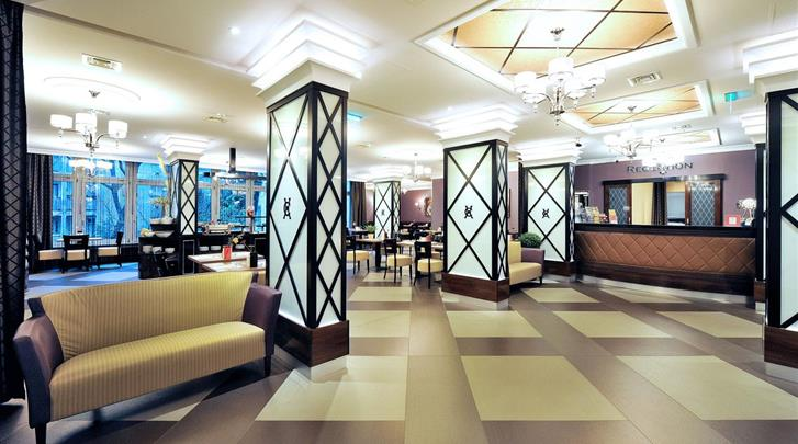 Boedapest, Hotel Exe Carlton (BUD), Lobby