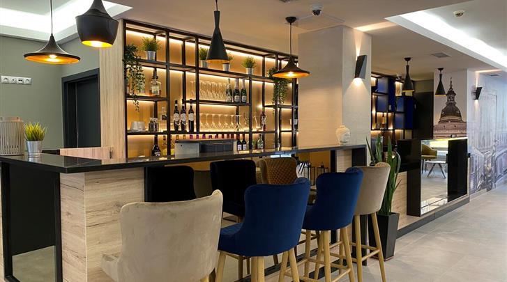 Boedapest, Hotel Impulso Fashion, Hotelbar