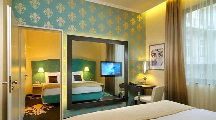 Boedapest, Hotel La Prima Fashion, Standaard kamer