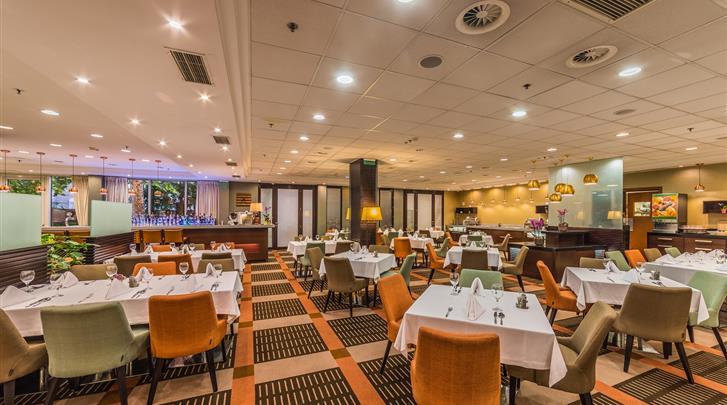 Boedapest, Hotel Lions Garden, Restaurant