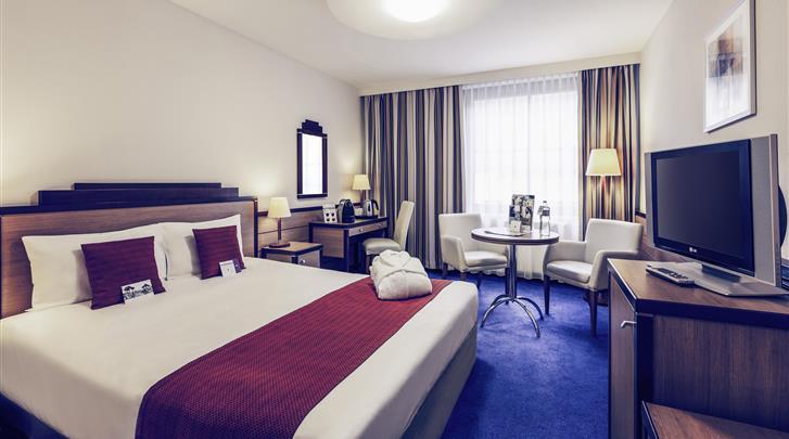 Boedapest, Hotel Mercure Budapest City Center, Standaard kamer