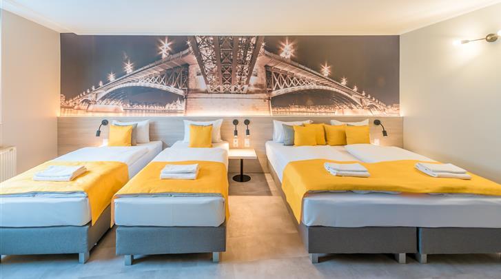 Boedapest, Hotel Montage Fashion, Comfort quad kamer