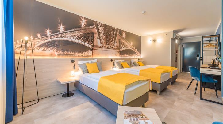 Boedapest, Hotel Montage Fashion, Comfort triple kamer