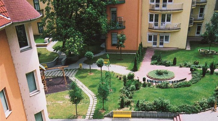 Boedapest, Hotel Pension Boulevard City, Façade hotel