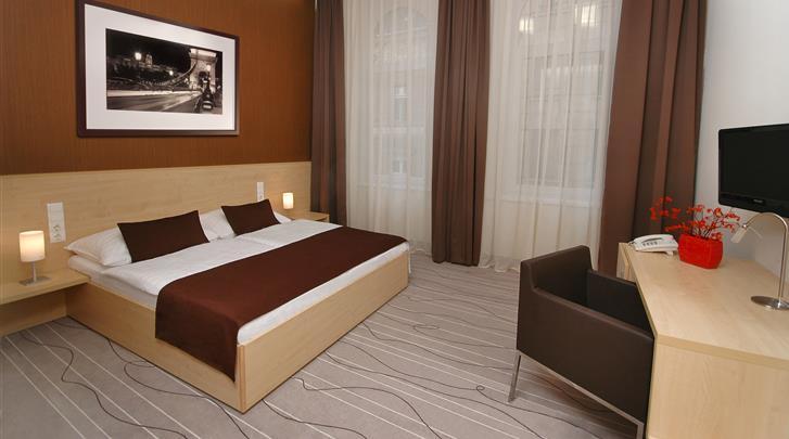 Boedapest, Hotel Promenade City Hotel, Standaard kamer