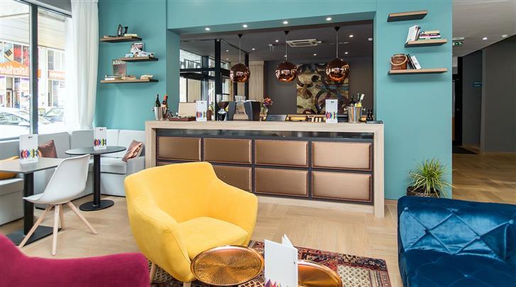 Boedapest, Hotel Roombach, Lobby