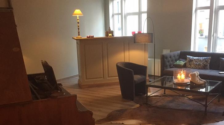 Brugge, Hotel Acacia, Lobby