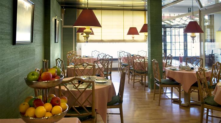 Brugge, Hotel Floris Karos Bruges, Ontbijtrestaurant
