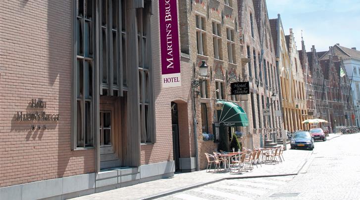 Brugge, Hotel Martin's Brugge, Façade hotel