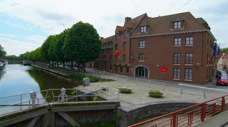 Brugge, Hotel Rosenburg, Façade hotel