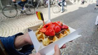 Brussel, Brusselse wafel