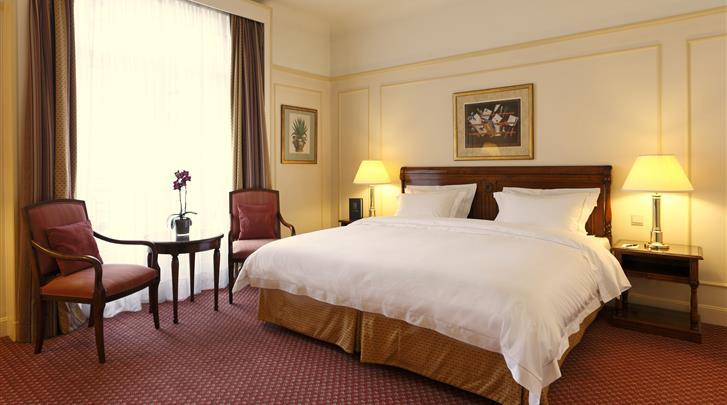 Brussel, Hotel Le Plaza Brussels, Deluxe kamer