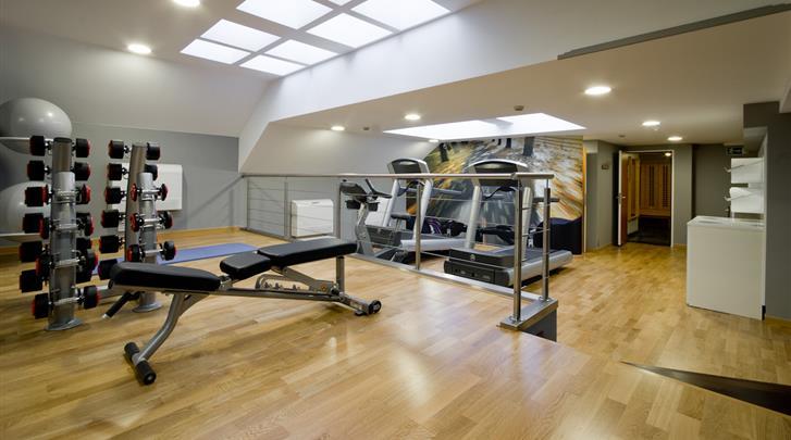 Brussel, Hotel Le Plaza Brussels, Fitnessruimte