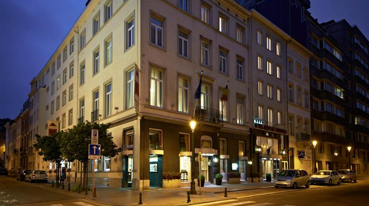 Brussel, Hotel Leopold, Façade hotel