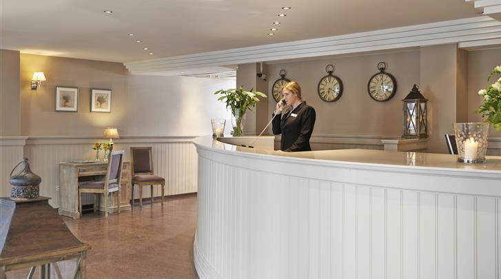 Brussel, Hotel Leopold, Receptie
