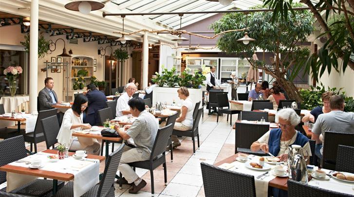 Brussel, Hotel Leopold, Restaurant