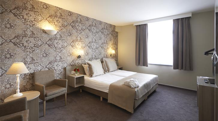 Brussel, Hotel Leopold, Standaard kamer