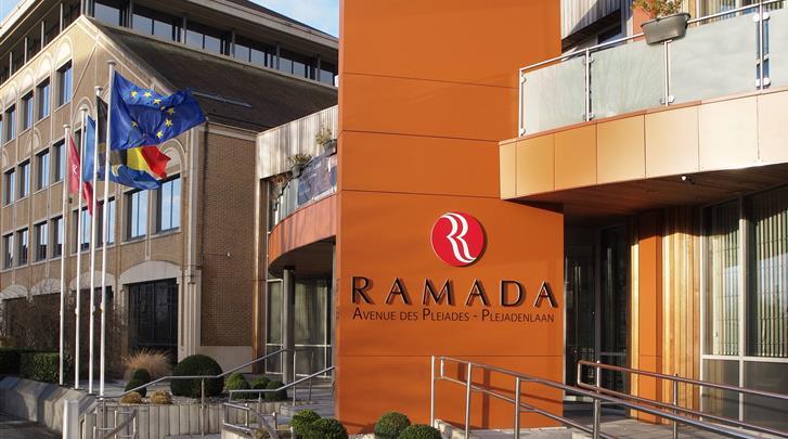 Brussel, Hotel Ramada Brussels Woluwe, Façade hotel