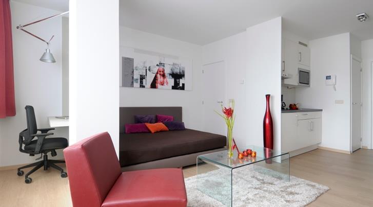 Brussel, Hotel Saint Nicolas, Studio