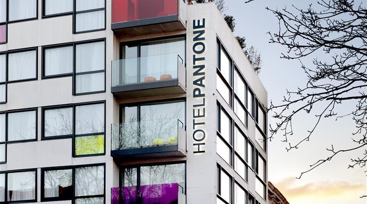 Brussel, Hotel The Pantone, Façade hotel