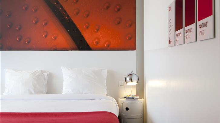 Brussel, Hotel The Pantone, Standaard kamer