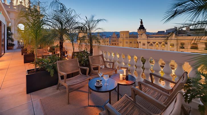 Córdoba, Hotel H10 Palacio Colomera, Terras