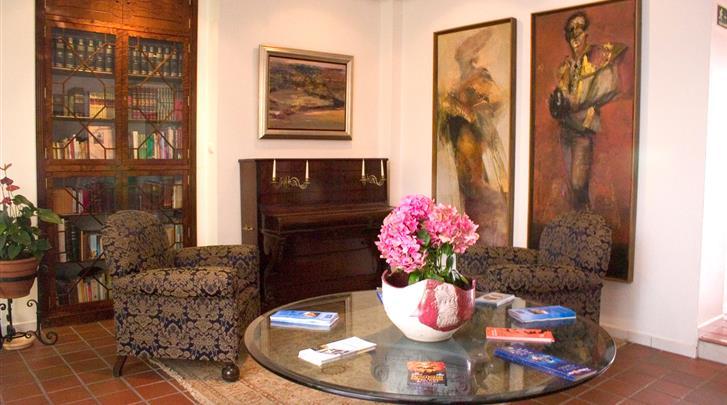 Córdoba, Hotel Maestre, Lobby