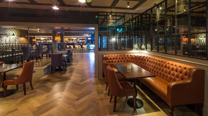 Dublin, Hotel Bonnington, Hotelbar