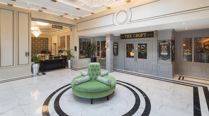 Dublin, Hotel Bonnington, Lobby