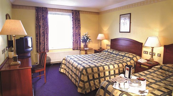 Dublin, Hotel Cassidys, Standaard kamer