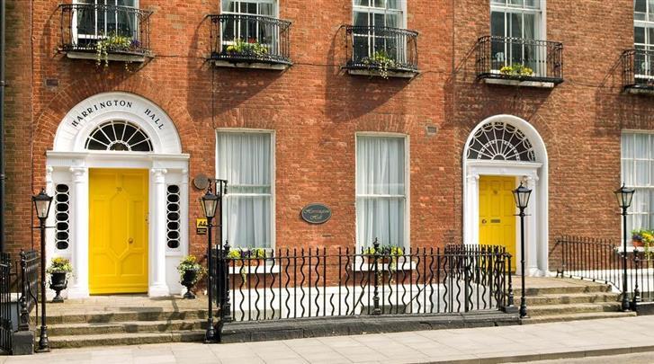 Dublin, Hotel Harrington Hall, Façade hotel