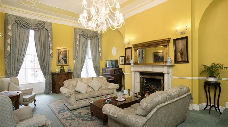 Dublin, Hotel Harrington Hall, Lobby