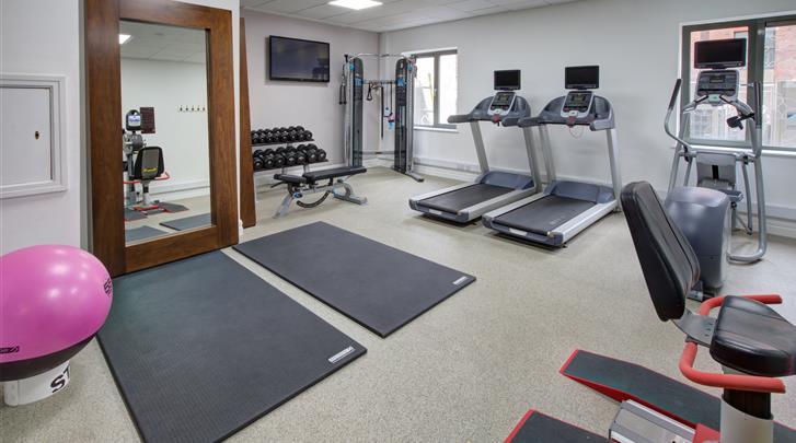 Dublin, Hotel Hilton Garden Inn Dublin Custom House, Fitnessruimte
