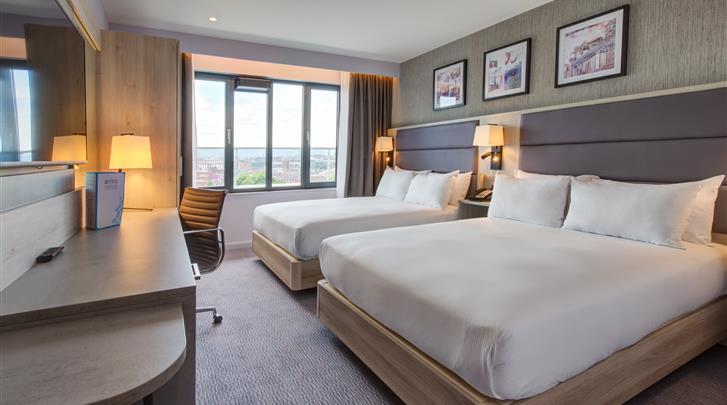 Dublin, Hotel Hilton Garden Inn Dublin Custom House, Kamer met aparte bedden