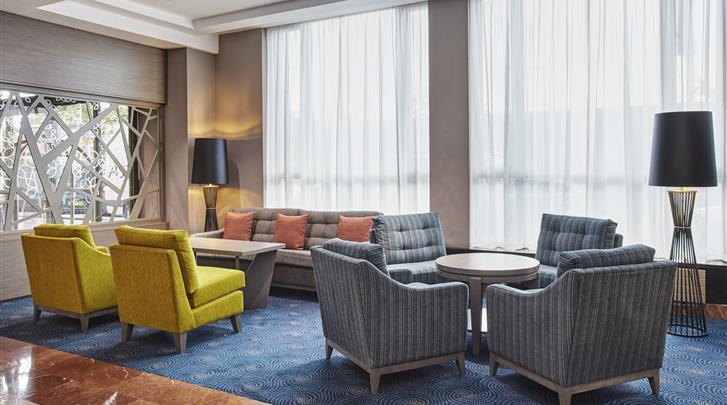 Dublin, Hotel Hilton Garden Inn Dublin Custom House, Lobby