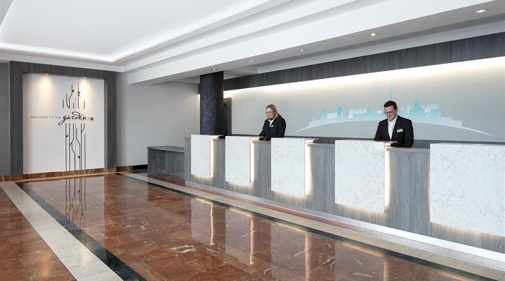 Dublin, Hotel Hilton Garden Inn Dublin Custom House, Receptie